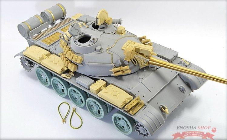Конверсионный набор Т-55А м1981г., включает фототравления и точенный ствол купить в Москве (В35136)         Корректирующие и конверсионные наборы