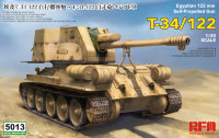 T-34/122 Egyptian 122 mm Self-Propelled Gun
