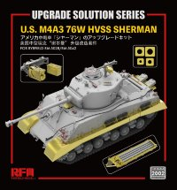 U.S. M4A3 76W HVSS Sherman UPGRADE SOLUTION SERIES