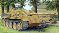 Немецкая САУ Jagdpanther Sd.Kfz.173 Ausf.G1 Early Production w/Zimmerit