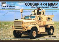 Бронеавтомомбиль COUGAR 4X4 MRAP (Mine-Resistant Ambush Protected)