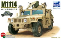 Американский бронеавтомобиль M1114 Up-Armored Tactical Vehicle