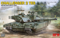 Британский танк Challenger 2 TES w/workable track links