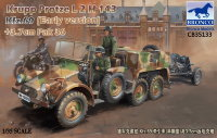 Тягач Krupp Protze L2 H 143 Kfz.69 (early version) with 3.7cm Pak 36