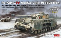 Pz.Kpfw.IV Ausf.J Late Production/ Pz.Beob.Wg.IV Ausf.J 2 in 1 w/workable track links