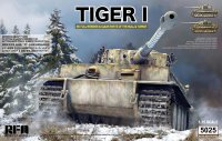 German Tiger I Early Production Wittmann's Tiger No. 504 with full interior and clear parts with workable tracks