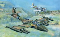 Самолет  US A-37A Dragonfly Light Ground-Attack Aircraft (1:48)