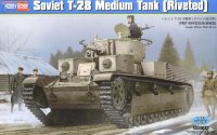 Советский Танк Т-28(Soviet T-28 Medium Tank (Riveted)Hobby Boss