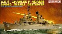 U.S.S. Charles F.Adams Guided Missile Destroyer