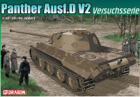 ТАНК PANTHER Ausf.D V2 VERSUCHSSERIE