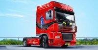 "ГРУЗОВИК DAF XF Super Space Cab Truck ""Lady Cat"""