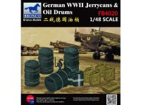 Аксессуары  German WWII Jerrycans & Oil Drums  (1:48)