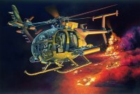 ВЕРТОЛЕТ AH-6J LITTLE BIRD 'NIGHTSTALKERS'