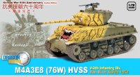 Танк  M4A3E8(76W) HVSS 24th INFANTRY DIV., HAN RIVER KOREA 1951  (1:72)