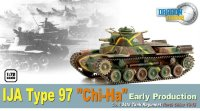 "Танк  IJA TYPE 97 ""CHI-HA"" EARLY PRODUCTION NORTH CHINA 1945  (1/72)"
