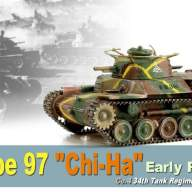 "Танк  IJA TYPE 97 ""CHI-HA"" EARLY PRODUCTION NORTH CHINA 1945  (1/72) - Танк  IJA TYPE 97 ""CHI-HA"" EARLY PRODUCTION NORTH CHINA 1945  (1/72)"