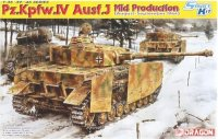 Pz.Kpfw.IV Ausf.J Mid Production (August-September 1944)