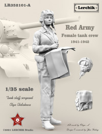 Red Army female tank crew (1941-1942) (Советская танкистка)