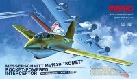 "Messerschmitt Me-163B ""Komet"" Rocket-Powered Interceptor"